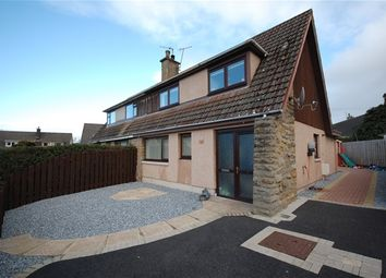 Thumbnail 2 bed semi-detached house for sale in Templand Place, Lhanbryde, Elgin