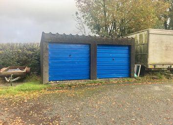 Thumbnail Parking/garage for sale in Garages 1 & 2 Oakfields, Newton St Petrock, Holsworthy, Devon
