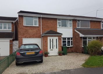 Thumbnail 3 bed property to rent in Roundhill Close, Syston, Leicester