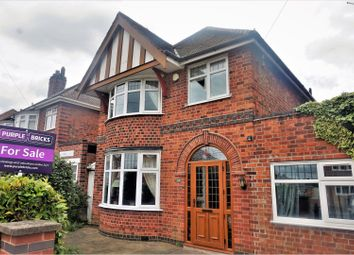 Thumbnail 4 bed detached house for sale in Cardinals Walk, Leicester