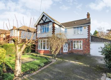 Thumbnail 4 bed detached house for sale in Moorway Lane, Littleover, Derby