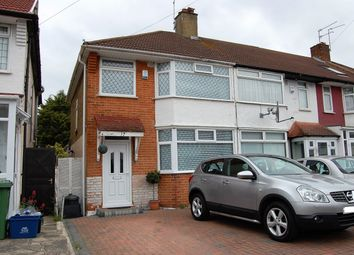 Thumbnail 3 bed end terrace house to rent in Wansford Road, Woodford Green