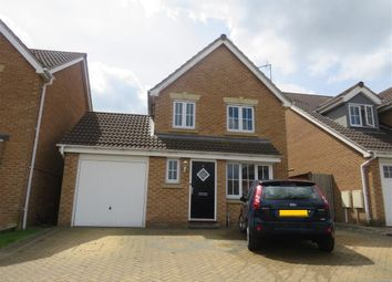 Thumbnail 3 bedroom detached house for sale in Chalon Close, Wellingborough