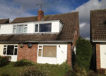 Thumbnail 2 bed semi-detached house to rent in Kingfisher Drive, Woodley, Reading