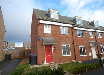 Thumbnail 3 bed end terrace house for sale in Mayfly Road, Pineham, Northampton, Northamptonshire