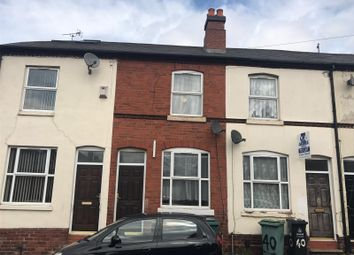 Thumbnail 2 bedroom terraced house for sale in Whitemore Street, Walsall, West Midlands