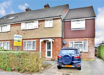 Thumbnail 5 bed semi-detached house for sale in Frythe Close, Cranbrook, Kent