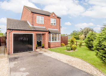 Thumbnail 4 bed detached house for sale in Manor Rise, Lincoln, Lincolnshire