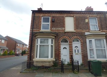 Thumbnail 3 bed end terrace house for sale in Paterson Street, Birkenhead