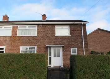 Thumbnail 2 bed terraced house to rent in Cloghan Crescent, Belfast