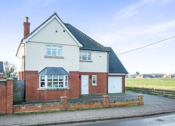 Thumbnail 4 bed detached house for sale in Wainford Road, Bungay