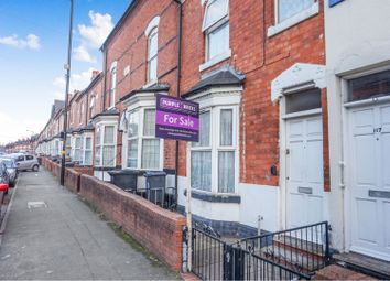 Thumbnail 3 bed terraced house for sale in Durham Road, Birmingham
