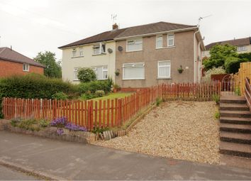 Thumbnail 2 bed semi-detached house for sale in Hillside Crescent, Newport