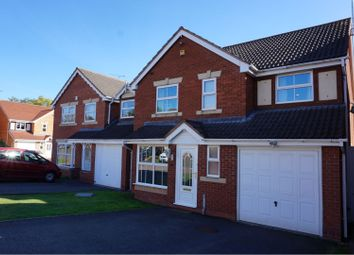Thumbnail 4 bed detached house for sale in Poplar Grove, Coventry