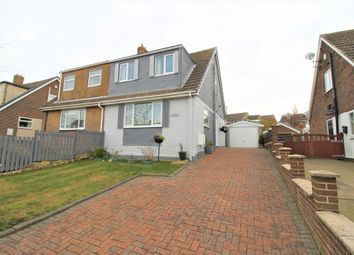 Thumbnail 2 bed semi-detached house for sale in Bar Avenue, Mapplewell, Barnsley, South Yorkshire