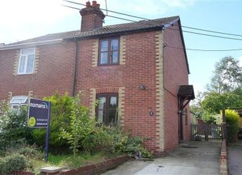 Thumbnail 2 bed semi-detached house to rent in Branksome Hill Road, College Town, Sandhurst