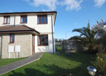 Thumbnail 2 bed semi-detached house to rent in Treveth Lane, Helston