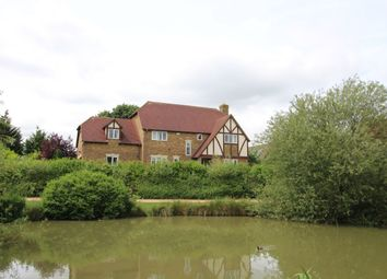Thumbnail 5 bed detached house to rent in Lynmouth Crescent, Furzton Lake, Milton Keynes