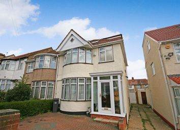 Thumbnail 4 bedroom terraced house for sale in Eastcote Avenue, Wembley