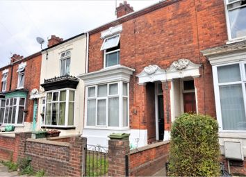 Thumbnail 3 bed terraced house for sale in Legsby Avenue, Grimsby