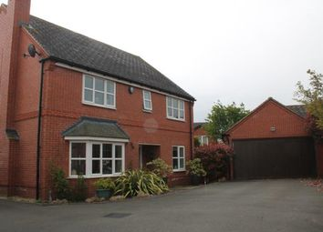 Thumbnail 4 bed detached house for sale in Wharrad Close, Bidford-On-Avon, Alcester