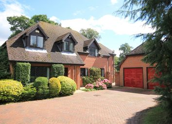 Thumbnail 5 bedroom detached house for sale in Round End, Newbury