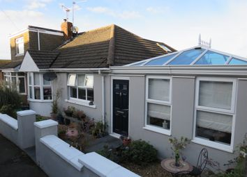 Thumbnail 3 bed semi-detached bungalow for sale in The Crescent, Pontypridd Road, Barry