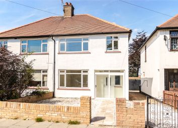 Thumbnail 3 bed semi-detached house for sale in Carlton Avenue, Westcliff-On-Sea, Essex