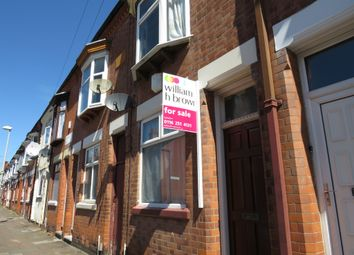 Thumbnail 3 bed terraced house for sale in Raymond Road, Leicester