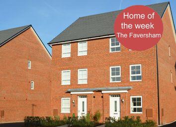 "Thumbnail 4 bedroom semi-detached house for sale in ""Faversham"" at Weddington Road, Nuneaton"