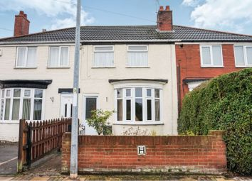 Thumbnail 2 bed terraced house for sale in Hamont Road, Old Clee, Grimsby
