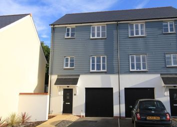 Thumbnail 3 bed semi-detached house for sale in Teign Fort Drive, Kingsteignton, Newton Abbot