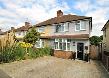 Thumbnail 3 bed semi-detached house for sale in Tennyson Road, Addlestone, Surrey