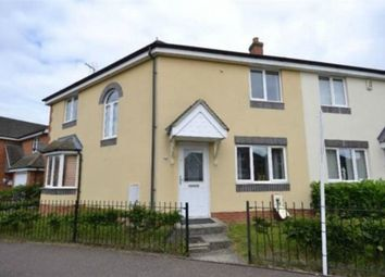 Thumbnail 1 bed end terrace house to rent in Belvoir Close, Corby, Northamptonshire