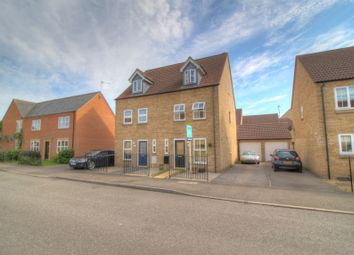 Thumbnail 3 bed town house for sale in Columbine Road, Ely