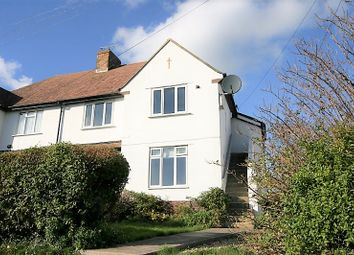 Thumbnail 3 bed flat for sale in Tumulus Road, Saltdean, Brighton