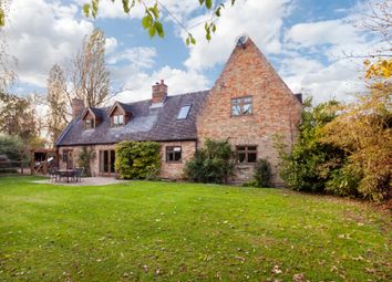Thumbnail 4 bed detached house for sale in Old Church Lane, Colne, Huntingdon