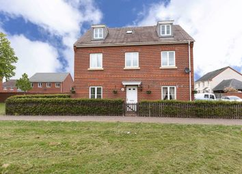 Thumbnail 5 bed detached house for sale in Military Drive, Thatcham