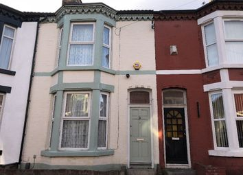 Thumbnail 3 bedroom terraced house to rent in St Davids Road, Liverpool