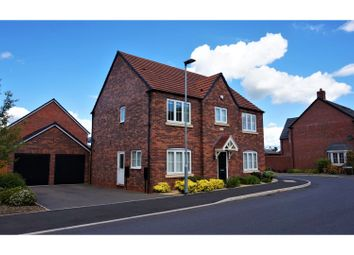 Thumbnail 4 bed detached house for sale in Capriole Place, Evesham