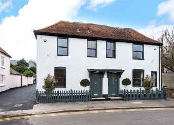 Thumbnail 3 bed semi-detached house for sale in Angel Cottage 1, Church Road, Shepperton, Surrey