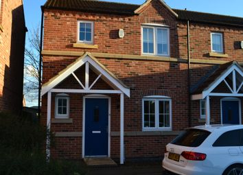 Thumbnail 3 bed semi-detached house to rent in Spire Gardens, Newark