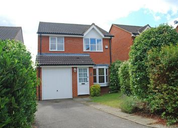 Thumbnail 3 bed detached house for sale in Gibson Close, Hitchin, Hertfordshire