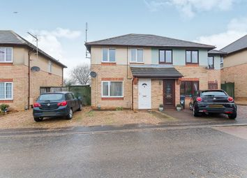 Thumbnail 3 bed semi-detached house for sale in Lime Tree Close, Yaxley, Peterborough