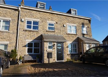 Thumbnail 4 bed mews house for sale in The Sidings, Chinley