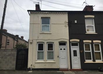 Thumbnail 2 bedroom end terrace house for sale in 1 Longfellow Street, Bootle, Merseyside