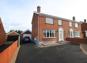 Thumbnail 3 bedroom semi-detached house for sale in Ashbury Road, Bangor