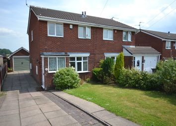 Thumbnail 3 bed semi-detached house for sale in Wem Grove, Chesterton, Newcastle-Under-Lyme