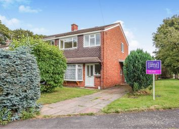 Thumbnail 3 bed semi-detached house for sale in Chaseley Avenue, Cannock
