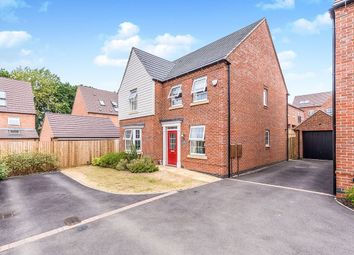 Thumbnail 4 bed detached house for sale in Fern Close, Coalville